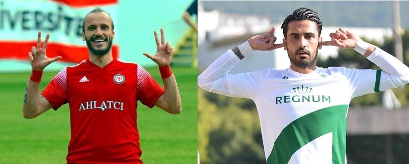Sinan Kurumuş ve Ozan Sol 2.Lig'in gol kralları