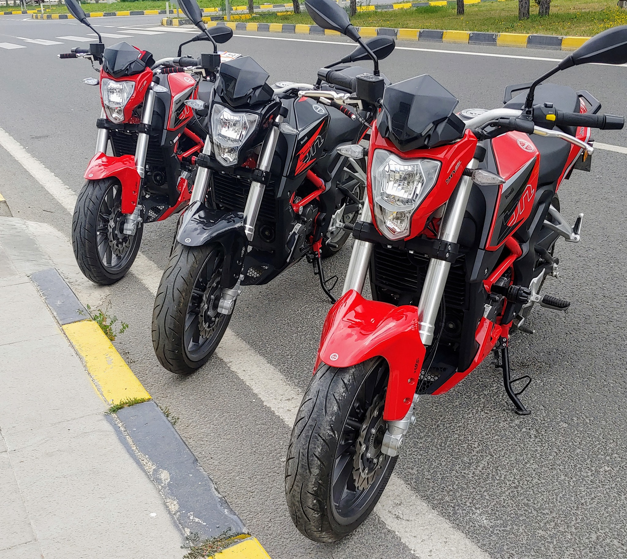 Haziranda motosiklet  patlaması